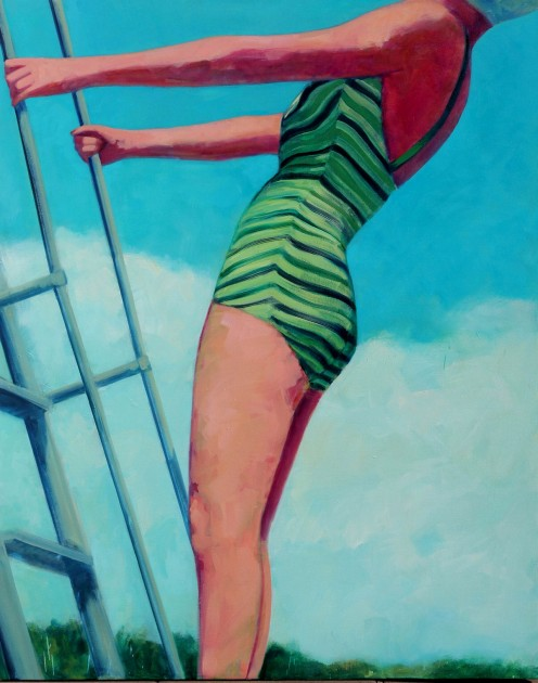 High Dive 60 X 48 inches